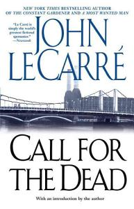 Call for the Dead Book