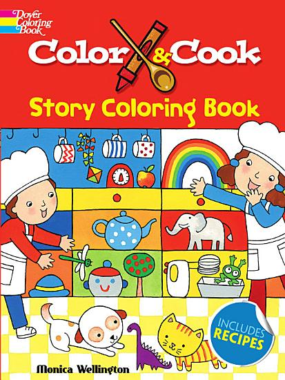 Color   Cook Story Coloring Book PDF
