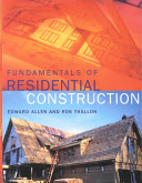 Fundamentals of Residential Construction PDF