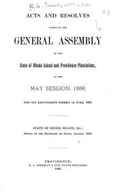 At the General Assembly of the State of Rhode-Island and Providence Plantations, Begun and Holden, ... at ... Within and for the Said State, on ..., in the Year of Our Lord