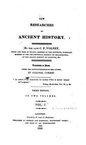 New Researches on Ancient History: Volume 1