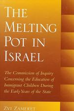 Melting Pot in Israel, The