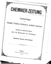 Chemiker-Zeitung: Band 16