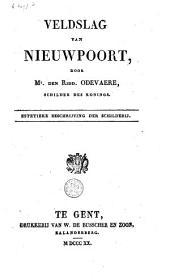 Veldslag van Nieuwpoort, door Mr. den Ridd. Odevaere, schilder des konings: estetieke beschrijving der schilderij