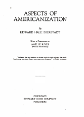 Aspects of Americanization
