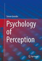 Psychology of Perception PDF