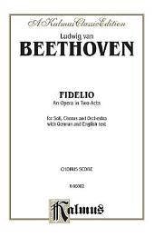 Fidelio: Vocal (Opera) Score