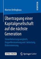 bertragung einer Kapitalgesellschaft auf die n  chste Generation PDF