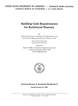 Building Code Requirements for Reinforced Masonry PDF