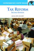 Tax Reform  A Reference Handbook  2nd Edition PDF