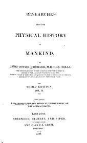 Physical ethnography of the African races. 3d ed. 1837