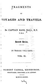 Fragments of Voyages and Travels: Second Series, Volume 2