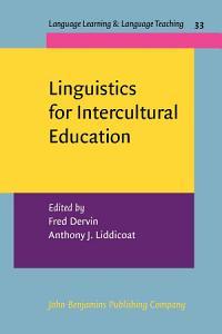 Linguistics for Intercultural Education PDF