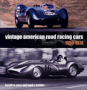 Vintage American Road Racing Cars 1950 1969 Book