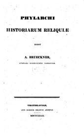 Phylarchi Historiarum Reliquiae
