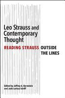 Leo Strauss and Contemporary Thought PDF