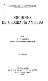 Nociones de geografía antigua