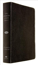 The Jeremiah Study Bible  NKJV  Black LeatherLuxe