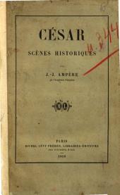 César scènes historiques par J. J. Ampère