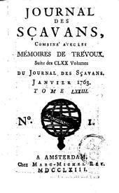 Le journal des sçavans, combiné avec les mémoires de Trévoux: Volume73