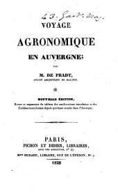 Voyage agronomique en Auvergne