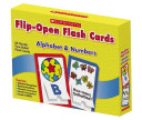 Alphabet And Numbers Flip Open Flash Cards Book PDF