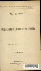 Annual Report of the Commissioners of the District of Columbia for the Year Ending June 30  1893 PDF