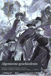 Algemeene geschiedenis: Volumes 17-18