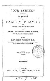 'Our Father', a manual of short family prayers