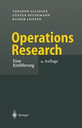 Operations Research: Eine Einführung, Ausgabe 4