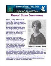 Stories from the Clinic by Emily C. A. Lierman, Bates: Natural Vision Improvement (Black & White Edition)