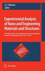 Experimental Analysis of Nano and Engineering Materials and Structures