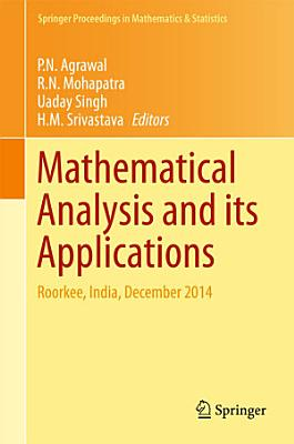 Mathematical Analysis and its Applications PDF