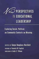 New Perspectives In Educational Leadership Book PDF