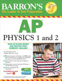 Barron s AP Physics 1 and 2 with CD ROM Book