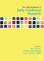 The SAGE Handbook of Early Childhood Research PDF