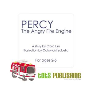 Percy  The angry fire engine