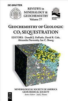 Geochemistry of Geologic CO2 Sequestration PDF