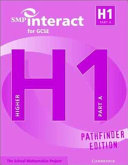 SMP Interact for GCSE Book H1 Part A Pathfinder Edition PDF