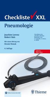 Checkliste Pneumologie: Ausgabe 4