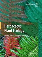 Herbaceous Plant Ecology PDF