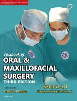 Textbook of Oral   Maxillofacial Surgery   E Book PDF