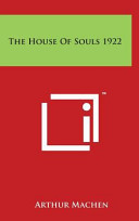 The House of Souls 1922