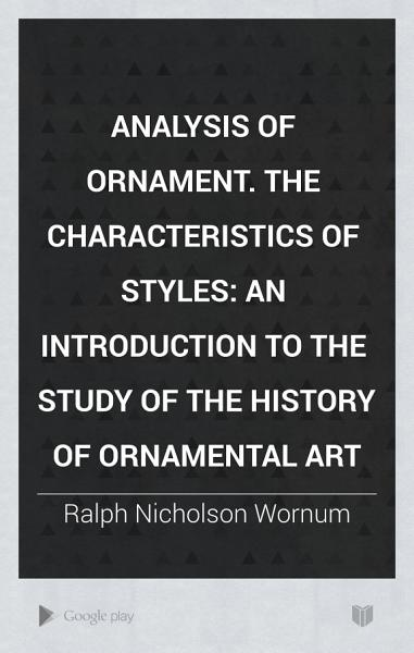 Analysis Of Ornament Characteristics Of Styles