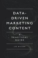 Data-Driven Marketing Content
