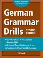 German Grammar Drills PDF