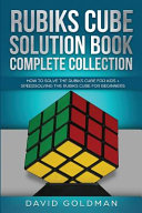 Rubik s Cube Solution Book Complete Collection PDF