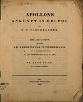 Apollons Ankunft in Delphi