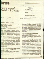 Environmental Pollution   Control PDF
