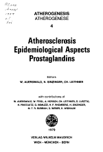 Atherosclerosis, epidemiological aspects, prostaglandins